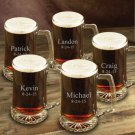 Set of Five 25oz Mugs - Free Personalization - Perfect for your Groomsmen!