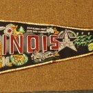 Illinois Vintage Pennant