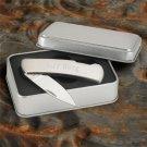 Stainless Steel Lock-Back Knife - Free Engraving