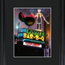 Personalized Marquee Framed Print - 6 Image Options