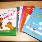 Dr. Suess & His Friends - Lot of 10 Books and Bookbag
