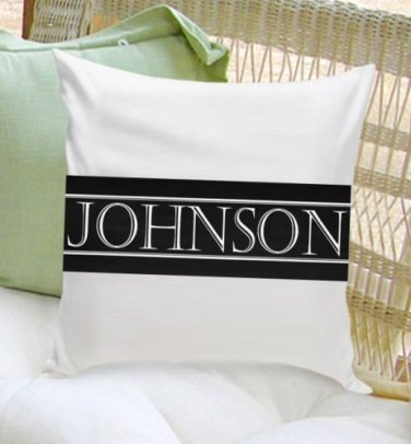 Family First Throw Pillow - Free Personalization - 3 Image Choices