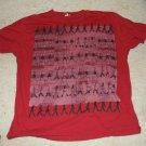 Beatles Abby Road Red Tshirt