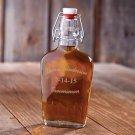 Groomsman 8.5oz Glass Flask - Free Personalization