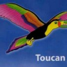 Toucan Kite - Multi-Colored Single String Kite