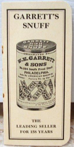 Garrett's Snuff 1940 Advertising Piece LIKE NEW Memphis Tenn