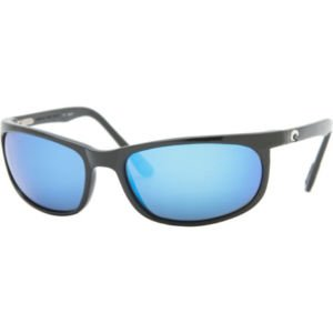 Costa Del Mar Deep Blue 400 Polarized Sunglasses - Black/Blue NEW