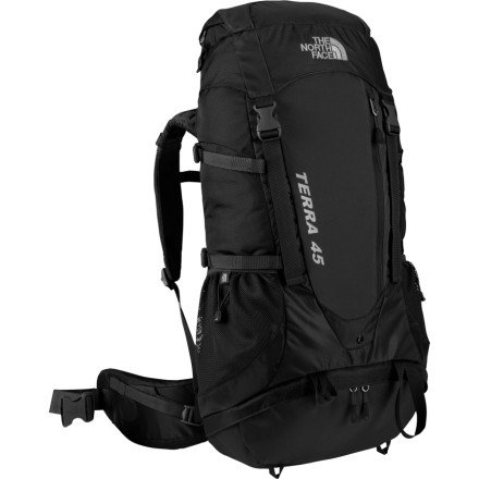 The North Face Terra 45 Backpack - Black