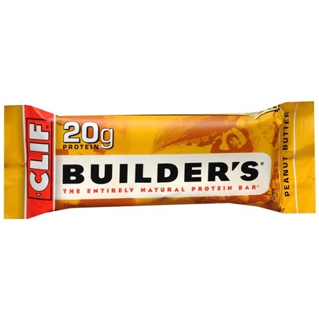 Clif BUILDER'S Bar Peanut Butter Protein Energy Bars - 12 Pack 28.8oz