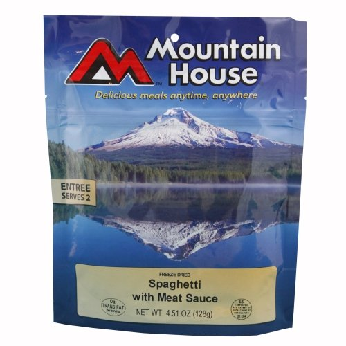 Mountain House Spaghetti with Meat Sauce Freeze Dried Meal 4.51oz