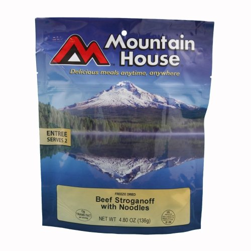 Mountain House Beef Stroganoff with Noodles Freeze Dried Meal 4.80oz