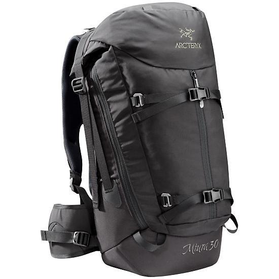 Arc'teryx Miura 30 Backpack  - Tall, Black