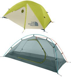 The North Face Mica 12 Tent: 1-Person 3-Season