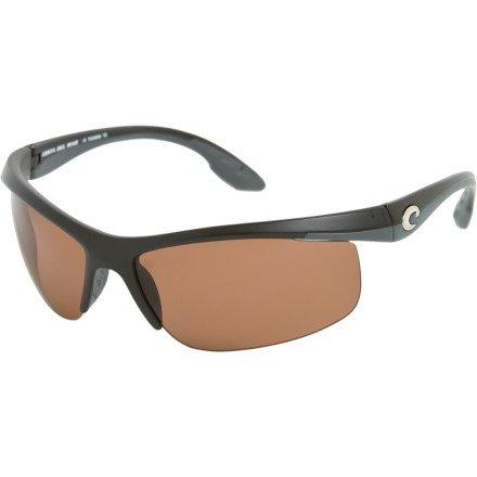 Costa Del Mar Skimmer 400 Polarized Sunglasses - Black/Vermillion