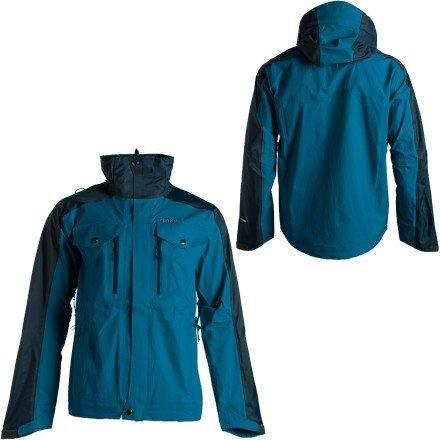 Solstice Vidar 3L Shell Jacket - Men's XL, Stainless