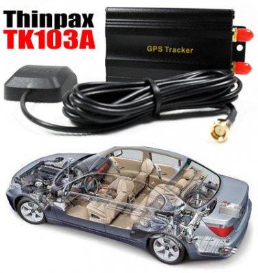 HOT!  Car Vehicle GSM/GPRS/GPS Tracker system Thinpax TK103-A