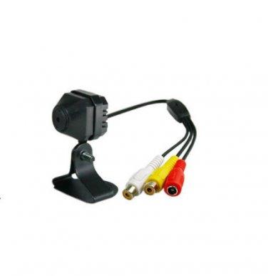Spy Mini Wired CCTV Security Color Video Audio Camera NTSC Hidden Pinhole Camera