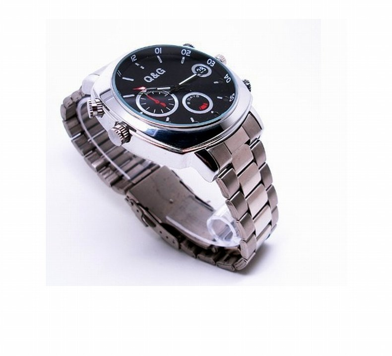 NEW 8GB FULL HD 1080p Watch SPY Camera DVR with Motion Detection Waterproof