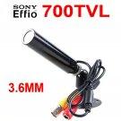 "Mini 700TVL 1/3"" Sony CCD Security Video Surveillance Bullet Color Camera 0.01Lux"