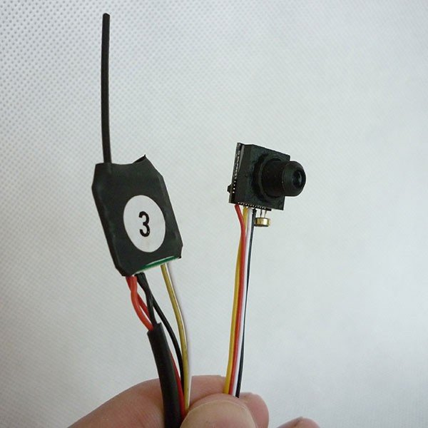 2.4G Wireless HD mini 600 tvl Audio Camera CCTV micro camera