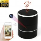 1080P WiFi HD Spy Cam Bluetooth Speakers Wireless Mini Camera