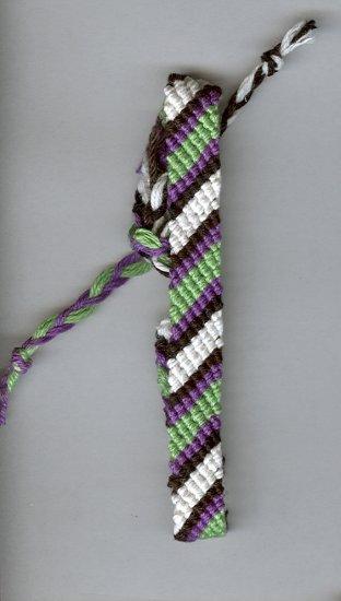 Friendship Bracelet - stripes