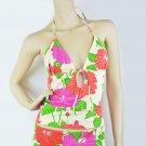 $70 New VICTORIA'S SECRET Zimmermann Groovy Bikini Halter Top Swimwear 10 M