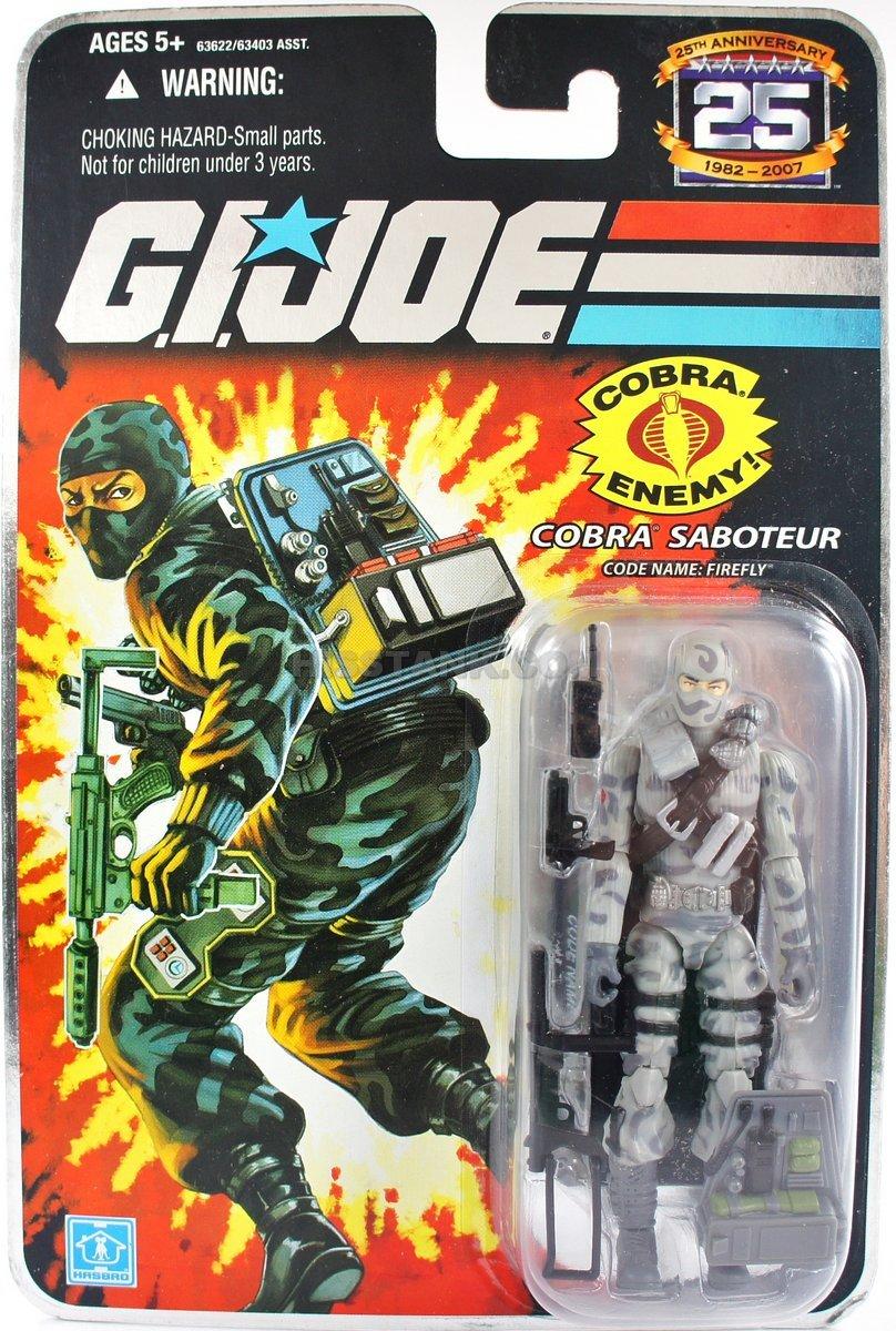 G.I. Joe 25th Anniversary Firefly MOC 2007