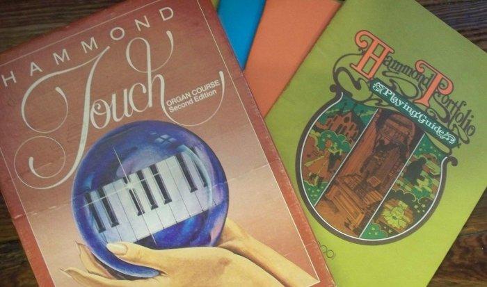 HAMMOND Touch Organ Course Boxed Set & The Hammond Portfolio