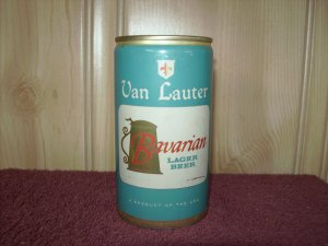 VAN LAUTER BAVARIAN LAGER BEER can-National Brewing Co. Phoenix, Ar.-Tab Top
