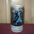 SCHLITZ MALT LIQUOR BEER can-Jos. Schlitz Milwaukee, Wis. Tamps, Fl. Los Angeles-Tab Top