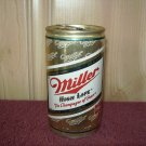 MILLER HIGH LIFE BEER can-Miller Brewing Co. Milwaukee, Wi. Fort Worth, Tx Fulton, NY Sta Tab