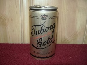 TUBORG GOLD BEER Can-Carling National Breweries Sta Tab
