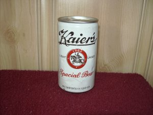 KAIER'S SPECIAL BEER Can-Chas. D. Kaier Co. Tab Top