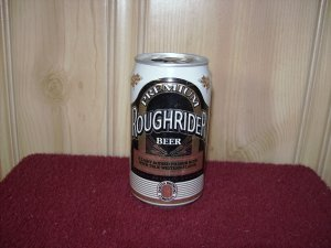 ROUGHRIDER BEER Can-Dakota Brewing Co. Sta Tab