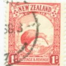 New Zealand Scott #186 Used Stamp