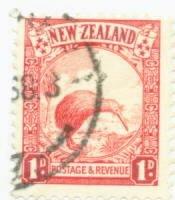 New Zealand Scott #186 Used Stamp