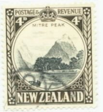 New Zealand Scott #191 Used Stamp