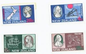 New Zealand Scott #431-4  4 vars. MNH Stamp