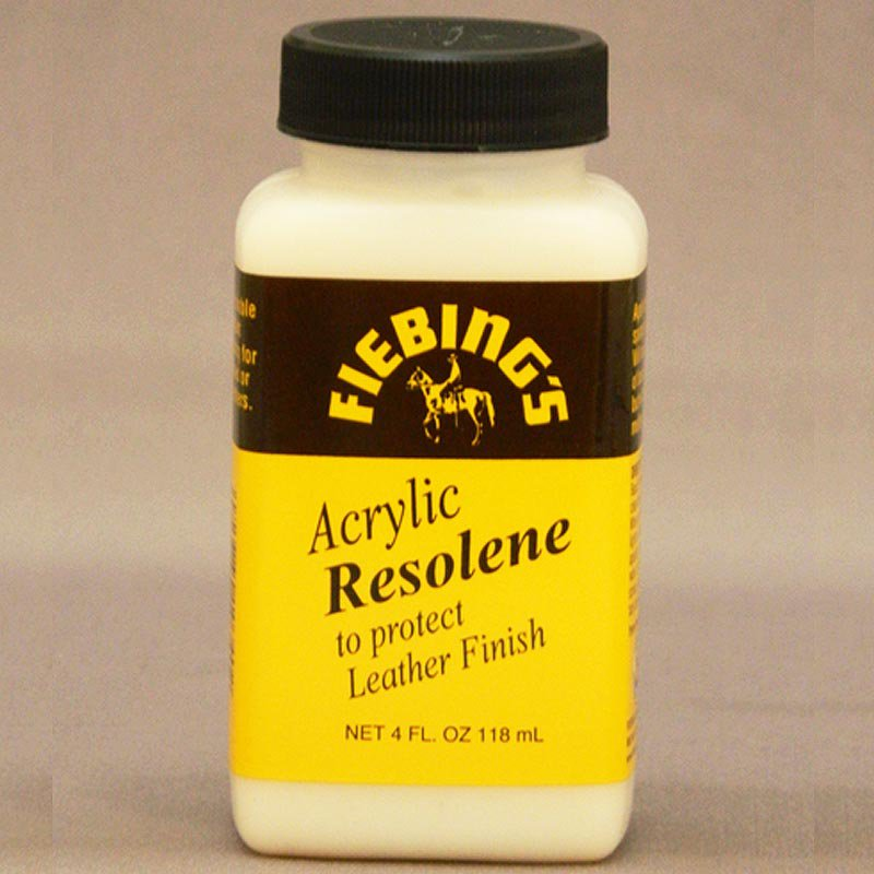 FIEBING'S ACRYLIC RESOLENE TO PROTECT LEATHER FINISH ALL COLORS 1GAL/32OZ/4OZ