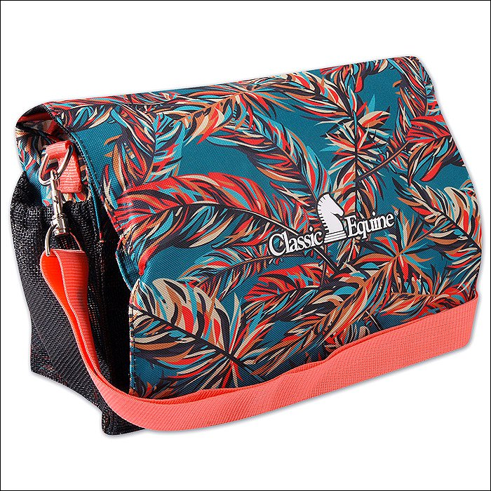 12X5X8 CLASSIC EQUINE HORSE DELUXE GROOMING NECESSITY TOTE BAG PARADISE