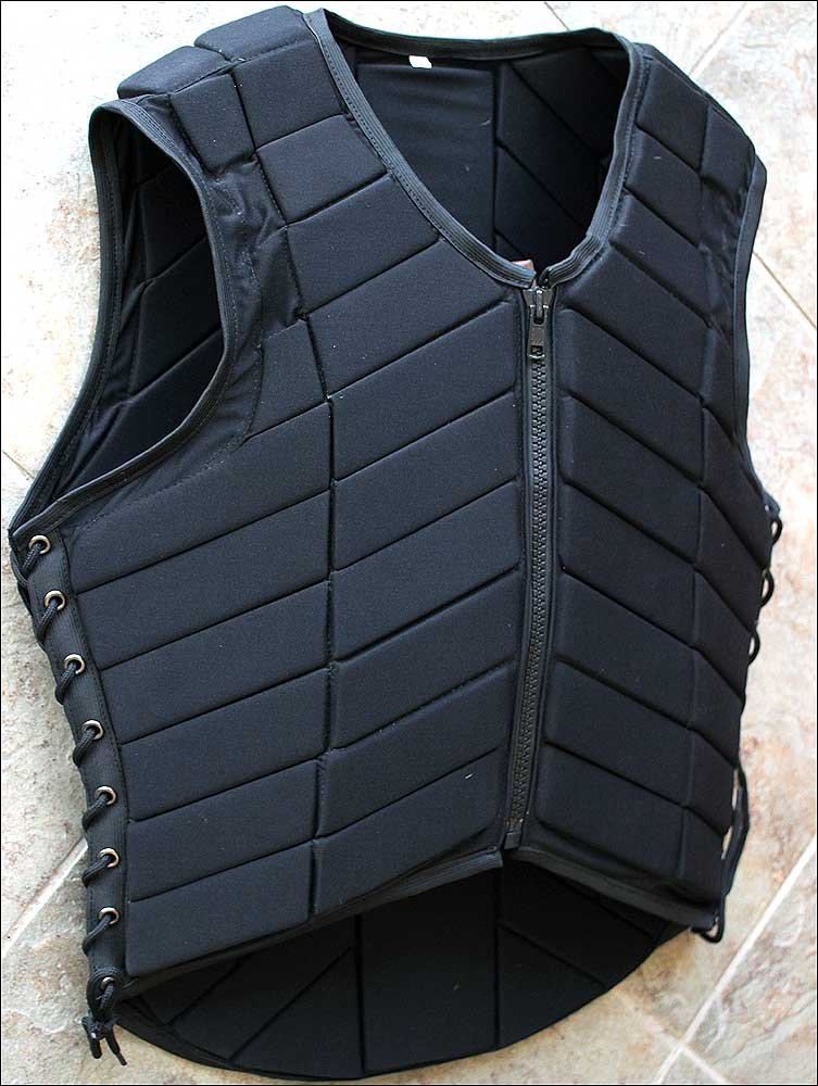 PV112-F HILASON ADULT SAFETY EQUESTRIAN EVENTING PROTECTIVE PROTECTION VEST XSML