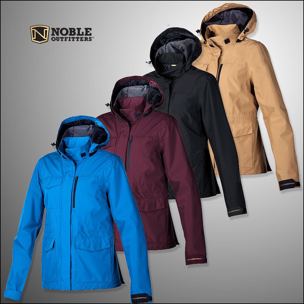 NOBLE OUTFITTERS WATERPROOF SEALED LADIES RIDING ESSENTIAL JACKET