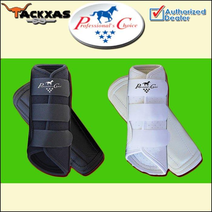 LARGE PROFESSIONAL CHOICE VENTECH BRUSHING HORSE LEG ALL PURPOSE BOOT PAIR