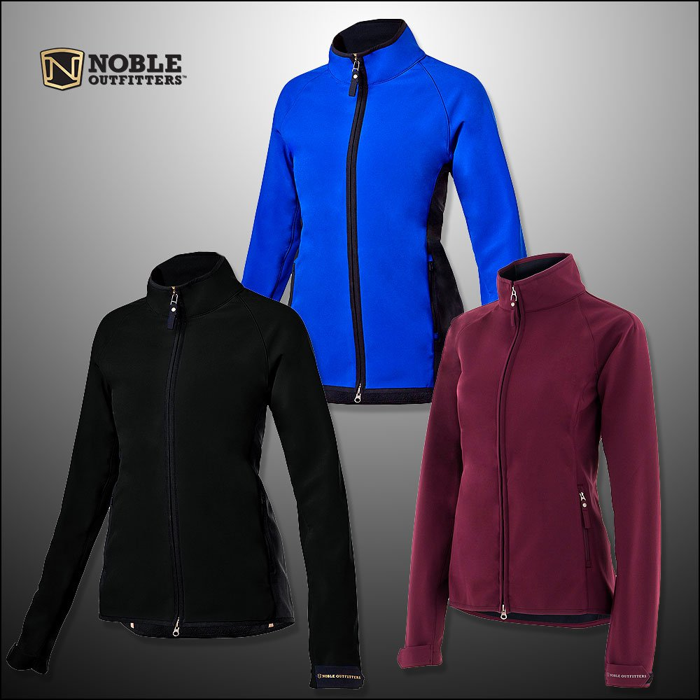NOBLE OUTFITTERS WOMENS ALL AROUND STRETCH ZIPPER JACKET