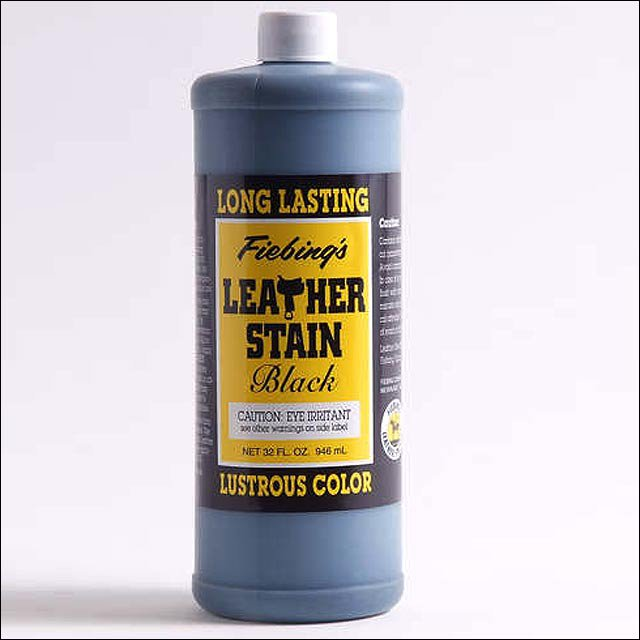 FIEBING'S NON FLAMMABLE LEATHER STAIN ALL LUSTROUS SHINY COLORS 4 OZ/ 32OZ