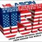 MADE USA HILASON WESTERN WOOL SHOCK BUSTER SADDLE BLANKET PAD WHITE BLACK GREEN