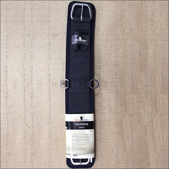 VCINCHS26 26 INCH CLASSIC EQUINE HORSE TACK NEOPRENE STRAIGHT CINCH GIRTH