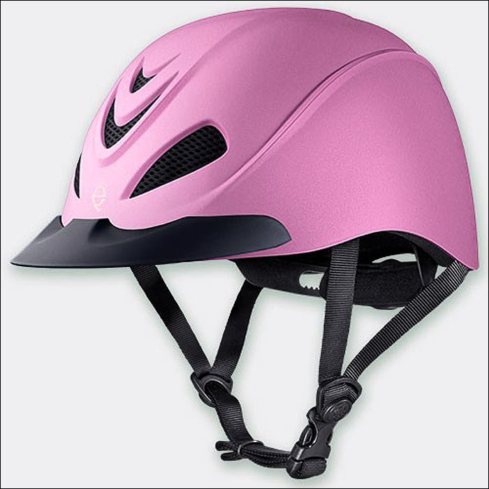 MEDIUM TROXEL LIBERTY PINK DURATEC LOW PROFILE SCHOOLING RIDING HELMET