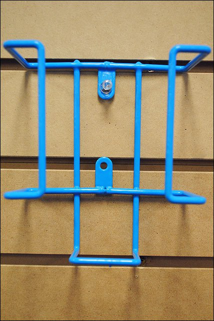 ROYAL BLUE HILASON HORSE TACK PVC COATED SALT BRICK HOLDER